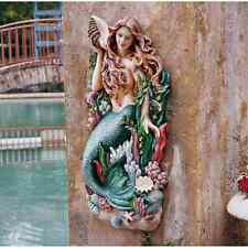 Melody's Cove Mermaid Nautical Wall Sculpture Statue