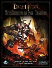 2011 Warhammer 40K RPG: Dark Heresy The Church of the Damned Hardcover