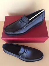 Salvatore Ferragamo MAXWELL Nero black loafers size 11.5 D  new in box $595.00