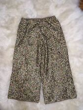Nwt JCrew Collection Merino Wool Culotte In Sequin Pants E5538 $450 6 SOLD OUT!