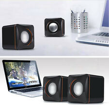 Mini Portable USB Audio Music Player Speaker for iPhone iPad MP3 Laptop PC FE