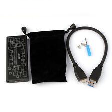 Hot M.2 NGFF PCI-E SSD 6Gbps an USB 3.0 Konverter Adapter Gehäuse Hülle Modisch