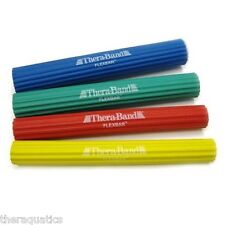 Thera-Band Flex Bar 4PK Resistance Theraband TENNIS ELBOW REHAB XLT-LT-MED-HEAVY
