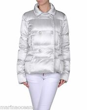 NWT EMILIO PUCCI GOOSE DOWN  PUFFER JACKET COAT GRAY SNAP SCARF PRINT