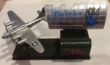 Corgi B-17 Flying Fortress Baby Lu Sleepy Small Plane Die Cast With Stand