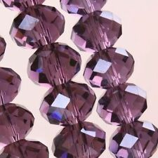 Wholesale 4x6mm 100pc Jewelry Faceted glass crystal beautiful Loose beads N44