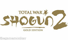 TOTAL WAR SHOGUN 2 Gold Edition [ PC ] Codice a vapore