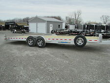 NEW WOLVERINE 26' ALUMINUM CAR HAULER EQUIPMENT TRAILER *14K GVW *DR TRAILER
