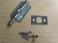 "NOS! 3-1/2"" STANLEY SECURITY LOCK FOR SLIDING DOORS"