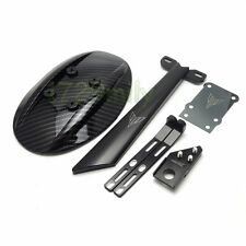 ABS Rear Fender Cover Mudguard w/Mount Bracket  for YAMAHA MT-09 FZ-09 14-15