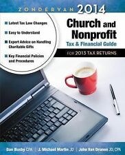 Zondervan 2014 Church and Nonprofit Tax and Financial Guide: For 2013 Tax Return