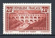 """FRANCE STAMP TIMBRE N° 262 A """" PONT DU GARD CHAUDRON TYPE I """" NEUF xx LUXE P653"""
