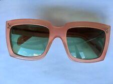 lunettes de soleil rose camel CÉLINE CELINE pink camel sunglasses CL 41800/S