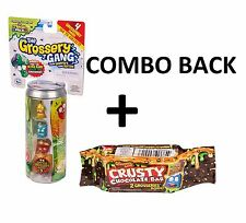The Grossery Gang Crusty Chocolate Bar + Sticky Soda Can Combo Pack