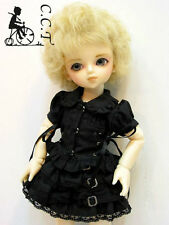 C.C.T. Yo SD Super Dollfie 27cm BJD outfit Punk dress Black