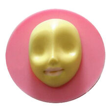 Mysterious face Shaped Silicone Fondant Gum Paste Mold Cake Decorating Tools