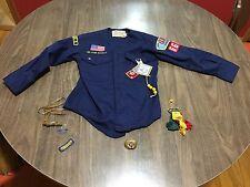 Vintage Set Of 2 Cub Scout Uniforms Boy Scout 1970s Authentic