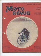 Moto Revue N°605  ; 13 octobre 34 : tableau les modéles DAX 1934-35