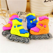 FD3715 Cool Skating Shoe Eraser Rubber Pencil Stationery Cute Child Gift 1pc♫