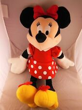 """Very Pretty 17"""" Minnie Mouse Plush Doll in Red Polka Dot Dress & Yellow Shoes"""