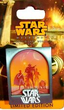 Disney Star Wars Tours Weekends Map Rebels 2014 Poster Art Pin Limited Edition