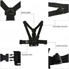 Hound Dog Fetch Harness Chest Strap Belt Mount For Gopro HERO 5, 4, 3+, 2 Camera