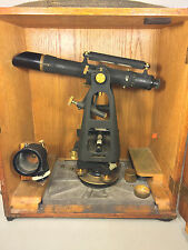 Vintage Keuffel & Esser Transit in Case With Alignment Target Device