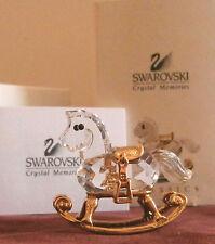 Swarovski Crystal Memories Classics ROCKING HORSE MIB 199447