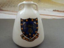 VINTAGE MODEL OF EGYPTIAN WATER JAR   BY  W H  GOSS  CRESTED EVESHAM