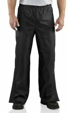 NEW Carhartt Men's Storm Defender Pants Waterproof Nylon Black Rain Size XL