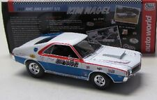 AMC AMX Hurst S/S ( 1969 ) K.Nagel / Auto World 1:18