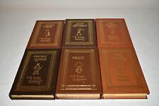 EASTON PRESS QUATERMAIN ADVENTURES H. Rider Haggard 6V SET Allan Maiwa Child 1ST