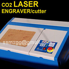 45w co2 laser engraving cutting machine high speed engraver cutter usb cnc #a