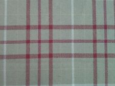 7.20m Laura Ashley Keynes in Cranberry Upholstery Fabric (4 pcs)