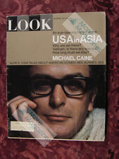 LOOK May 30 1967 MICHAEL CAINE GRACE SLICK BILL COSBY