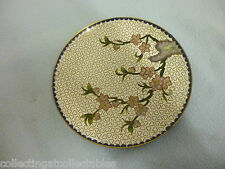 Chinese Cloisonne Dish With Blossom Decoration