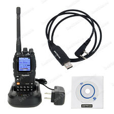 WouXun KG-UV9D V U 136-174/400-480MHz 5W Two Way Radio & Programming Cable B0036
