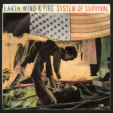 "Earth, Wind and Fire - System of Survival (7"" 45) (1987) Vinyl & Maurice White"