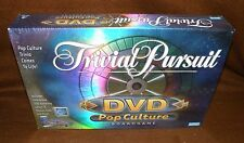 Trivial Pursuit Pop Culture Board Game  Game With Interactive DVD 2003 SEALED