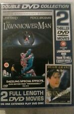 The lawnmower man/train to hell. Double film pack. Brand new still sealed