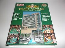 TRUMP CASTLE II CASINO RESORT BY THE BAY PC MAC VERSION GAME BIG BOXED VERSION