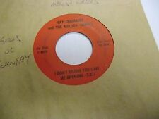 Nat Chambers Tiger Woman/I Don't Believe You Love Me Anymore 45 RPM VG private