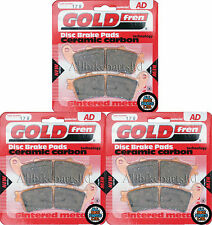 FULL SET OF HH BRAKE PADS (3xSets) For: HONDA GL 1800 GOLDWING GL1800 GOLDFREN