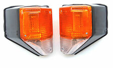 NEW Toyota Land Cruiser FJ 75 1986-1990 turn signal blinker lights set pair