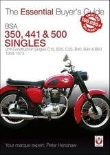BSA 350, 441 & 500 Singles 1968 to 1973 essential buyers guide book paper