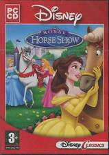 Disney Royal Horse Show - Princess Windows PC Computer Game (Ages 3+) -- NEW