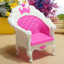 Princess Pink Dream House Sweet Armchair Furniture Sofa For Barbie Doll