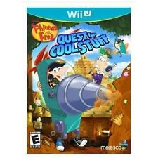 Phineas and Ferb Quest for Cool Stuff (Nintendo Wii U, 2013) BRAND NEW