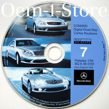 03 2004 MERCEDES CLK320 CLK430 CLK500 CLK55 AMG NAVIGATION MAP CD 7 NEW ENGLAND