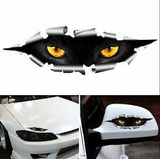 3D Car Styling Funny Cat Eyes Peeking Car Sticker  Auto Accessories 2pcs